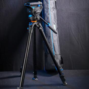 Rent Benro S4 Video Head & Vanguard Aluminum Alloy Tripod Legs. Great Compact Travel Tripod!