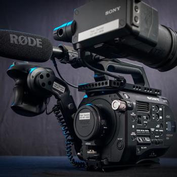 Rent Sony PXW-FS7 Cinema Camera with Metabones EF Adapter, PL Adapter, or EF .71x Speedbooster! (Plus Batteries, Cards, Shotgun Mic, & Accessories)