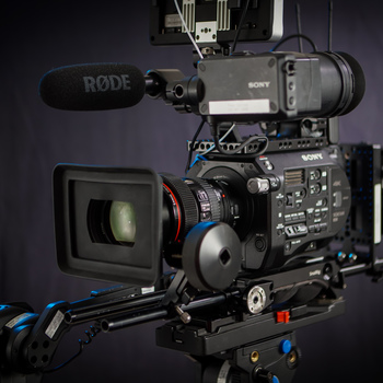 Rent Sony PXW-FS7 Cinema Camera Kit & Lenses - Fully Rigged Out!