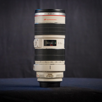 Rent Canon EF 70-200mm f/2.8L IS Telephoto Zoom Lens w Focus Gear