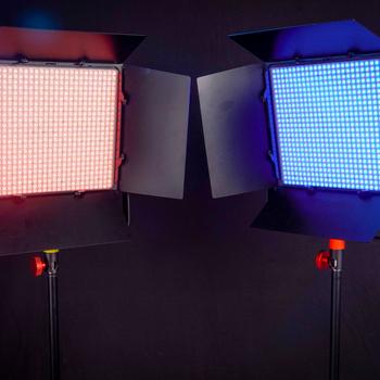 Rent (2x) Luxli Timpani 1x1' RGBAW Bi-Color LED Light Panels