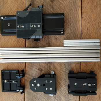 Rent ACCESSORY PACKAGE -- 703 Monitor, Baseplates, Sachtler, CAS, TV LOGIC