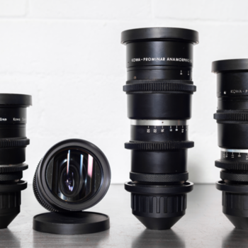 Rent (2) Kowa Anamorphic Prime Lens Set
