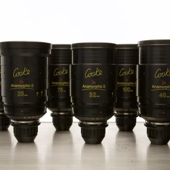 Rent (2) Cooke Anamorphic/i Lens