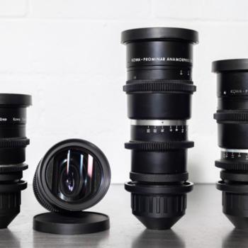 Rent (3) Kowa Anamorphic Prime Lens Set