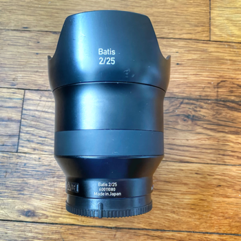 Rent Sony Zeiss 25mm F2 Prime Sharp Wide Angle Lens