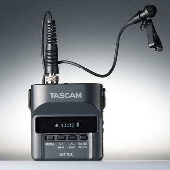 Rent Tascam DR-10L Digital Audio Recorder with Lavalier Mic