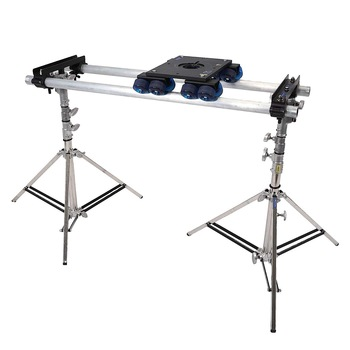 Rent Dana Dolly Kit w/ slider stands, 6ft track, and 504HD fluid head