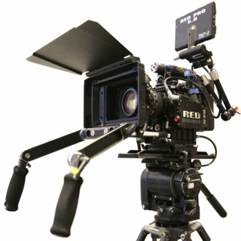 Rent Full Red Epic-X Dragon Package, 6 SSD Cards, Tripod, Matte Box, Handheld, More