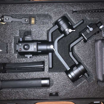 Rent DJI Ronin S with 4K Monitor Set Up