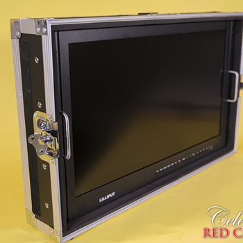 """Rent 28"""" Ultra-HD 4K Carry-on Director Monitor with Aluminum Case"""