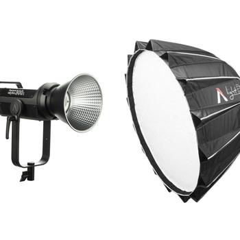 Rent Aputure Light Storm 300X Bi-Color LED Light Kit + Light Dome II