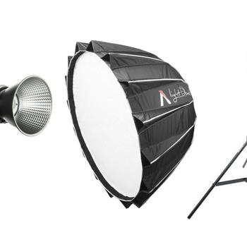 Rent Aputure Light Storm 300X Bi-Color LED Light Kit + Light Dome II + Light Stand
