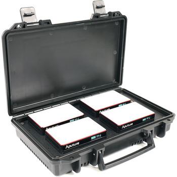 Rent Aputure MC RGBWW LED 4-Light Travel Kit with Charging Case