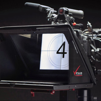 Rent iPad Teleprompter for 15mm rods OR light stand