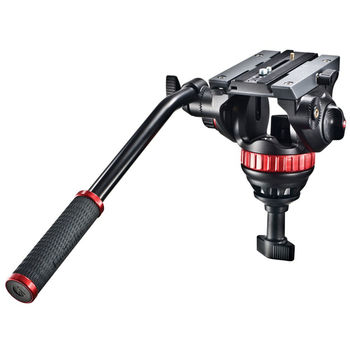 Rent Manfrotto 502HD Fluid Head with 75mm Half-Ball