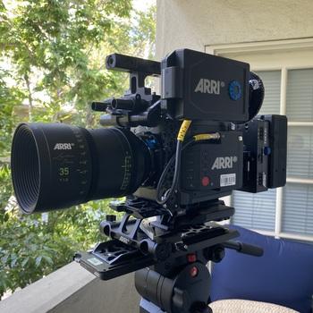 Rent ARRI Alexa Mini LF Camera w/6 Lens Signature Primes