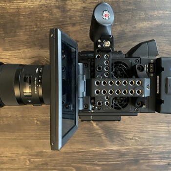 Rent RED Helium 8K S35 Filmmaking Kit (Epic-W Body)