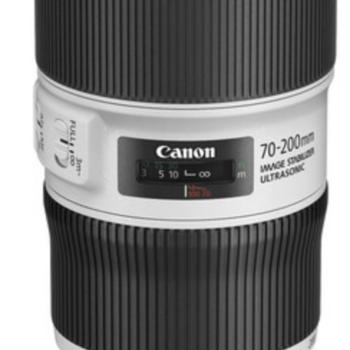 Rent Canon Telephoto Lens 70-200mm F/4 L IS II USM
