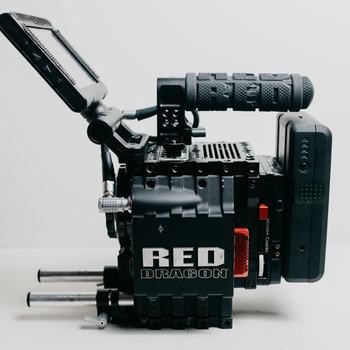 Rent RED EPIC DRAGON 6K PACKAGE (EF Mount) w/ Tripod
