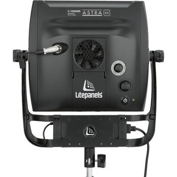 Rent Litepanels Astra 6X Traveler Bi-Color Duo 2-Light Kit with Gold Mount Battery Brackets