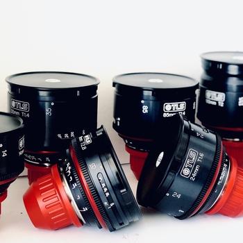 Rent Canon K35 Super Speed Primes Set