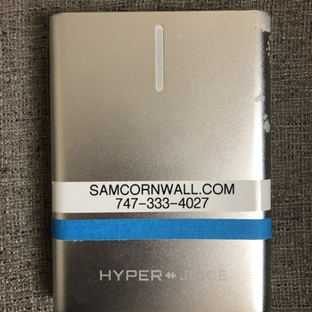 Rent HyperJuice AC Battery Pack 100Wh for Charging Laptops