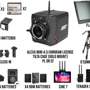 Rent Arri Alexa Mini Package (PL or EF)