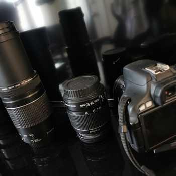 Rent Canon 600D + 3 Lenses