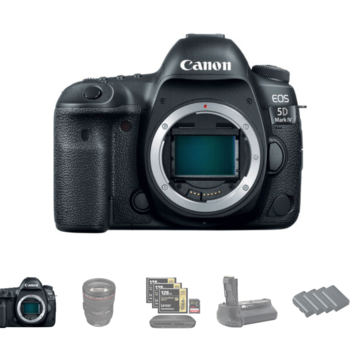 Rent Canon EOS 5D Mark IV w/Canon C-Log + 24-70 Lens Package