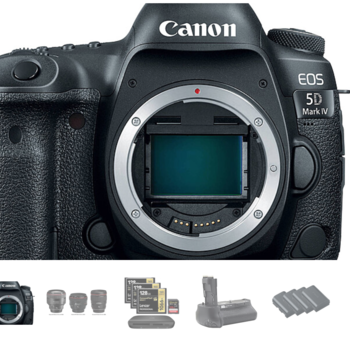 Rent Canon EOS 5D Mark IV w/Canon C-Log + 3x Prime Lens Package