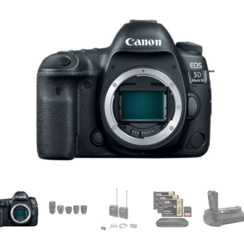 Rent Canon 5D Mark IV w/Canon C-Log, Lens, Wireless Mic Package