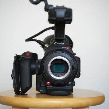 Rent Canon C100 Mark II Kit with Canon 24-105mm f/4 Lens,  Extra Batteries, Pelican Case, and SD Cards