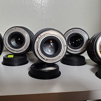 Rent Rokinon 6 Cine DS Lens Kit, EF Mount- 14, 24, 35, 50, 85, 100 macro