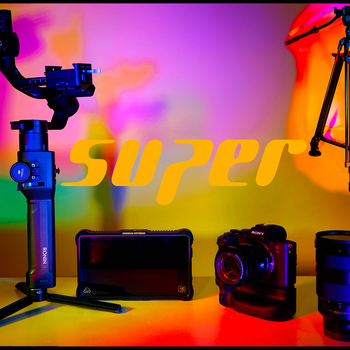 Rent Sony A7R IV (Super Ronin S Kit) Lenses+Tripod+Ronin+Monitor