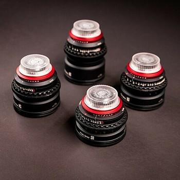 Rent Zeiss Rehoused Prime Circle Lock Circle 4 Planar Lens Kit 25, 35, 50, 85