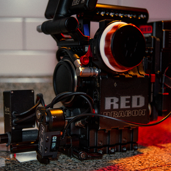 Rent RED EPIC DRAGON 6K PACKAGE (EF MOUNT) W/ Tilta Nucelus Nano WFF & TRIPOD