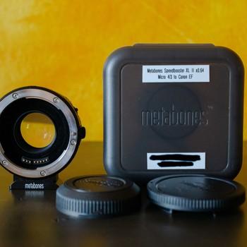 Rent Metabones Speedbooster XL II x0.64xx Micro 4/3 to Canon EF