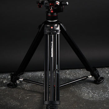 Rent Manfrotto Nitrotech N8 Video Head & 546B Pro Tripod with Mid-Level Spreader