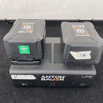 Rent Anton Bauer Dionic XT 150Wh V-Mount Lithium-Ion Battery x4 w/ LP2 charger
