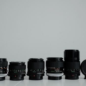 Rent Canon FD 6 Lens Set  w/ MFT Adapter
