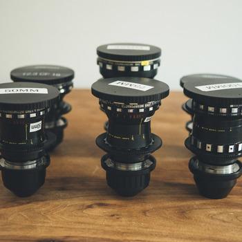 Rent Bausch & Lomb Super Baltar 6 Lens Set T2.2 Modernized by Duclos Lenses