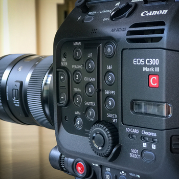 Rent Canon C300 Mark III Documentary Production Kit