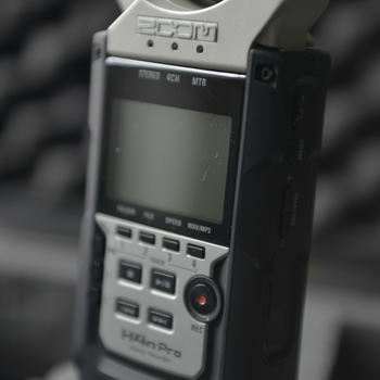 Rent Zoom H4N Pro - Professional audio recording in the palm of your hand