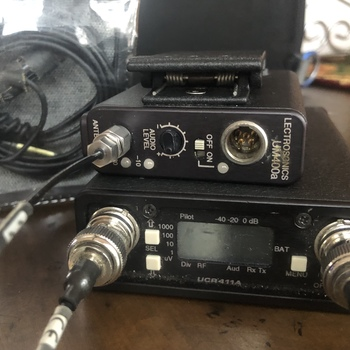 Rent Lectrosonic 411A/400a/sanken kit