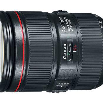 Rent Canon EF 24-105mm f/4L IS II - great range, great stabilization