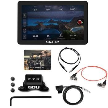 "Rent SmallHD FOCUS Pro 3G-SDI 5"" Monitor + RED KOMODO Control Kit + 3 Batteries"