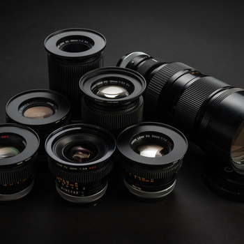 Rent Canon Fd lens kit w/ adapters