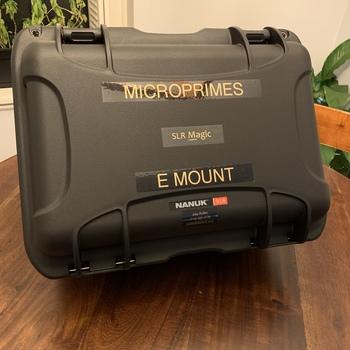 Rent SLR Magic Microprime Cine 6 Lens set