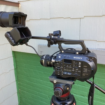 Rent Sony FS7M2 with metabones and Canon EF lenses in Hudson Valley